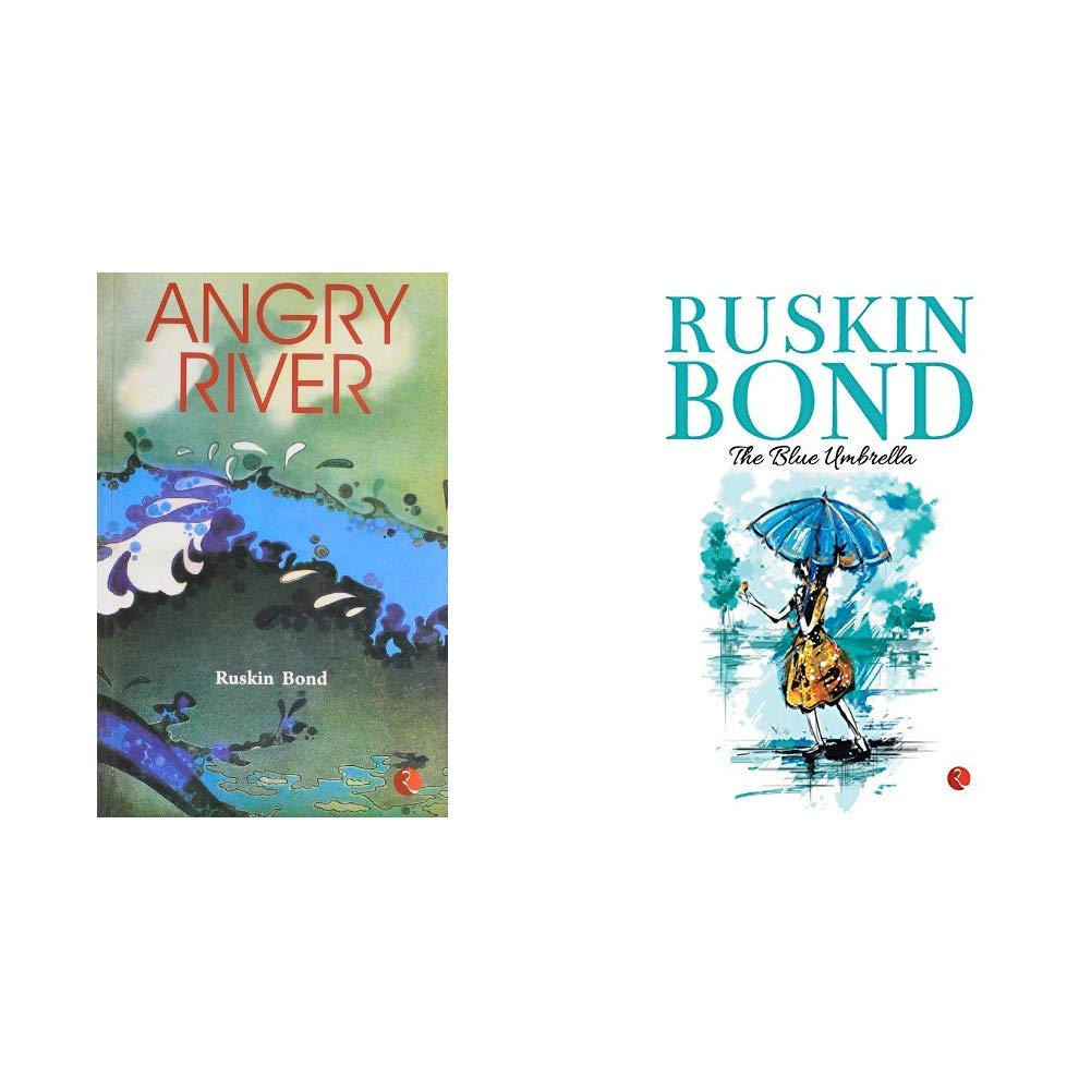 Angry River + The Blue Umbrella (Set of 2 books)