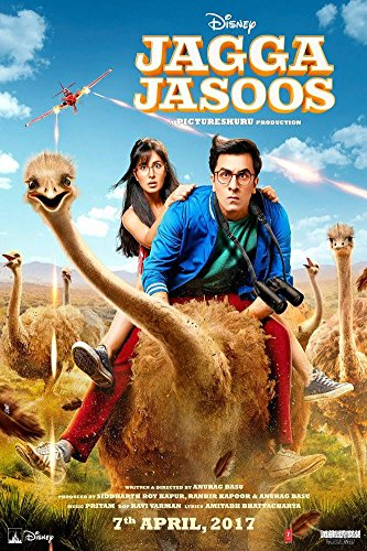 Jagga Jasoos Hindi Blu Ray ( All Regions, English Subtitles )