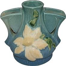 Roseville Pottery Clematis Blue Flower Frog 50
