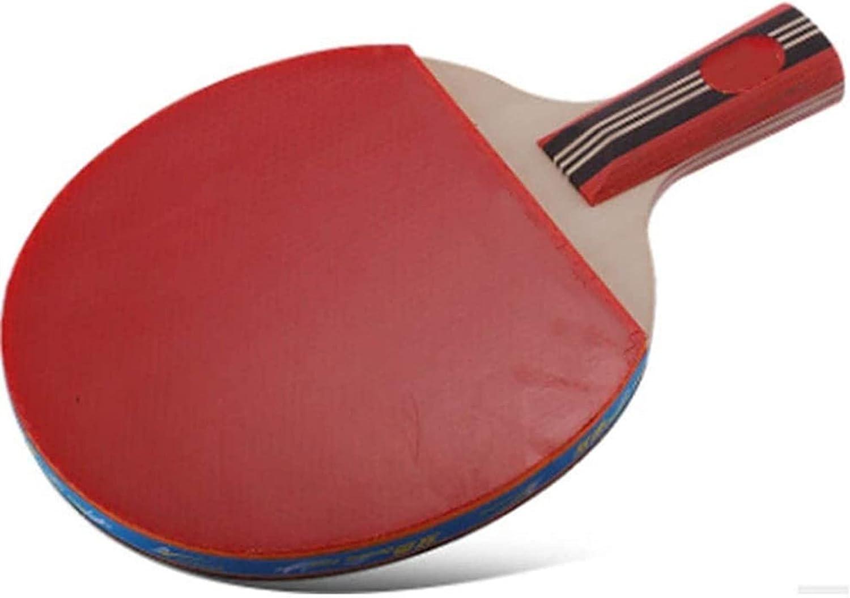 ZFQZKK Ping Pong Paleta Tenis Raqueta de Tenis Single Shot 4a Ping-Pong Ping Racket Horizontal Tiro Adulto niños Entrenamiento Competencia Tiro batido Manos Manos Juego de Ping Pong (Size : 15x24cm)
