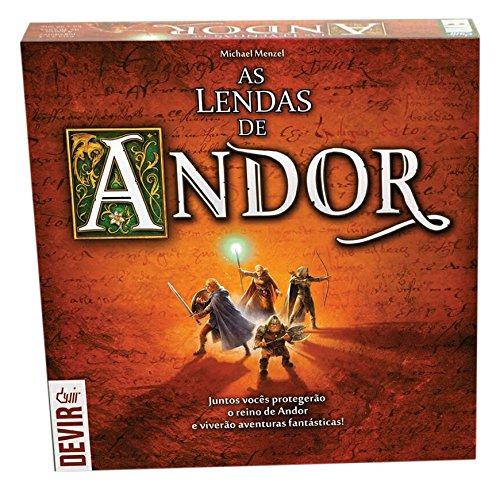 Devir - As Lendas de Andor (en portugués) (BGANDORPT)