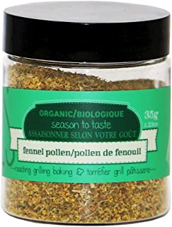 Epicureal 100% Pure Fennel Pollen For Cooking and Baking, 35g (1.24oz) | Packed with Flavour, High in Antioxidants, Vitami...