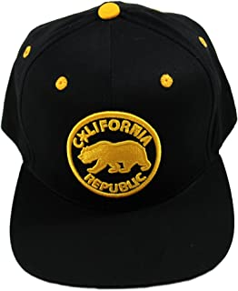 California Republic Snapback Cap