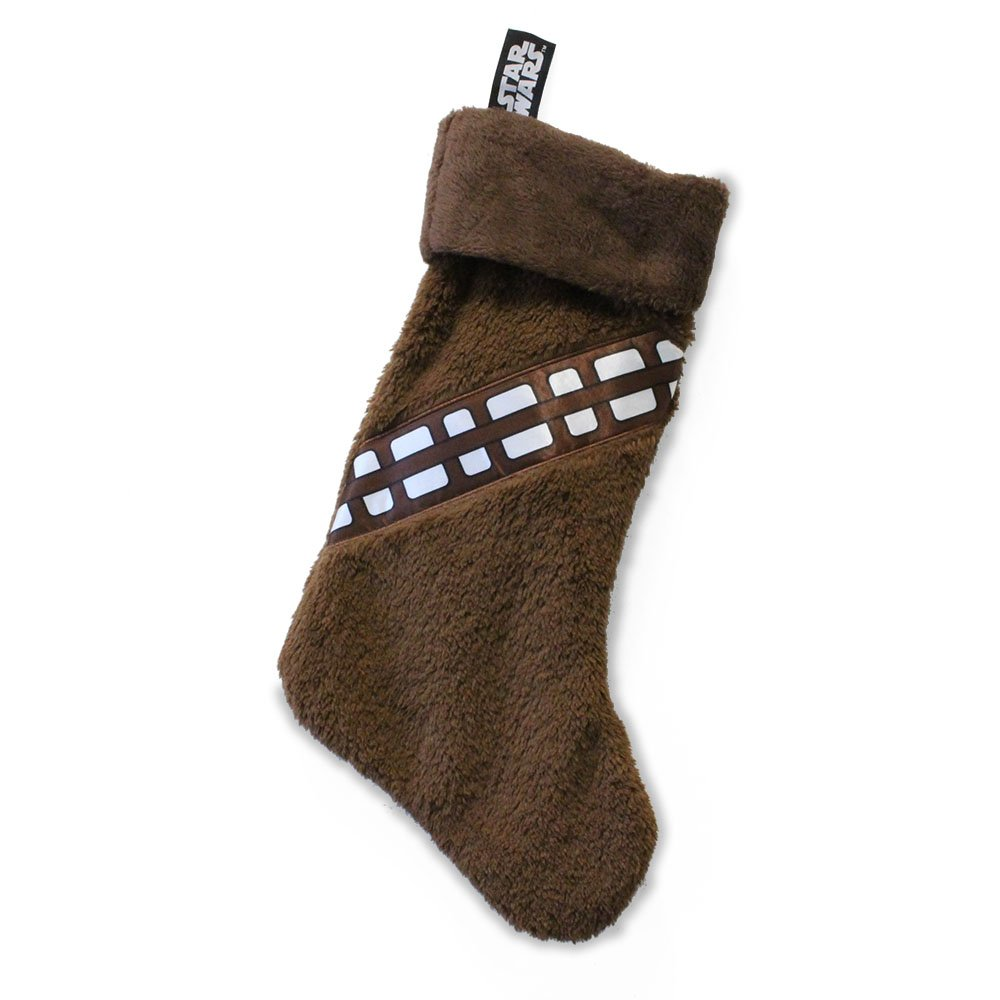OFFICIAL STAR WARS CHEWBACCA FLEECE NOVELTY CHRISTMAS STOCKING NEW WITH TAGS