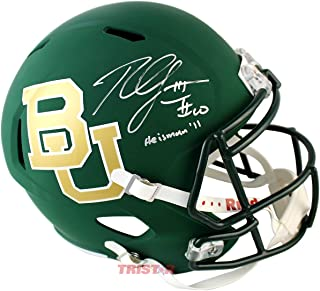 Robert Griffin III Signed Autographed Baylor Bears Authentic Full Size Helmet Inscribed Heisman 2011 TRISTAR COA