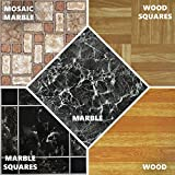 ASAB Large Self Adhesive Vinyl Floor Tiles 30cm x 30cm (1ft x 1ft)