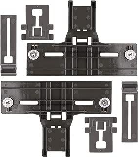 W10350376 Dishwasher Top Rack Adjuster & W10195839 Dishrack Adjuster & W10195840 Dishrack Positioner for Kenmore KitchenAid Whirlpool - Enhanced Durability with Steel Screws