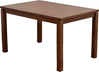 山善(YAMAZEN) リビングこたつ 家具調こたつ (120×80cm 長方形) 継脚付き WEX-HD120H8(WBS)