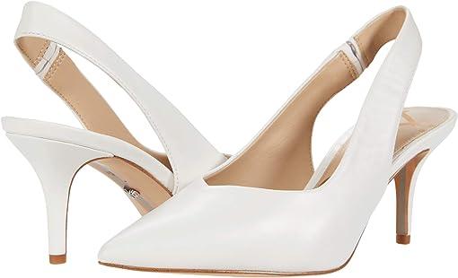Bright White Dress Nappa Leather