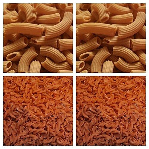4x 250g PALEO Nudeln (2x mit Sonnenblumenmehl - 2x mit Sesammehl) Pasta GLUTENFREI Getreidefrei Gourmet Lebensmittel Delicatesse
