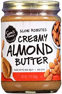 Sam's Choice Slow Roasted Creamy Almond Butter, 12 oz