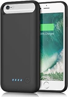 iPhone6/6s/7/8対応 バッテリーケース 6000mah 軽量 充電ケース バッテリー内蔵ケース 急速充電 大容量 バッテリー内蔵カバー 超便利 耐衝撃 4.7インチ用