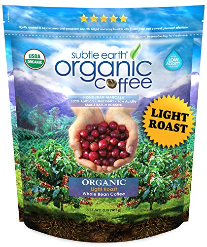 Subtle Earth Organic Coffee - Light Roast