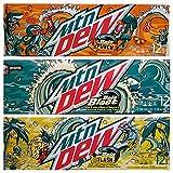 NEW Mtn Dew Baja Flavor Pack, 12 fl oz cans, 36 count