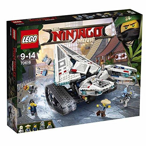 The LEGO Ninjago Movie Ice Tank 70616 Building Set