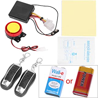 Yuuups 12V Motorcycle Bike Anti-Theft Security Alarm System Remote Control Engine Start