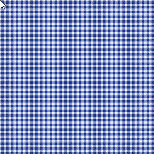 20 servilletas a cuadros azul oscuro/cuadros/atemporal 33 x 33 cm