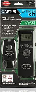 Hähnel Captur Timer Kit (Kabelloser Fernauslöser und Timerauslöser, geeignet für Fujifilm) schwarz