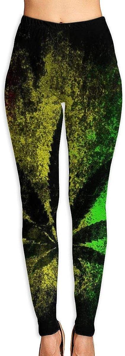 Sale special price Reggae Rasta Marijuana Leaf Weed Popular standard Women's Digital High Print W 3D