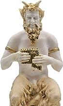 PAN Satyr Greek Nude God of Nature Faunus Figurine Statue Sculpture 9.25 inches