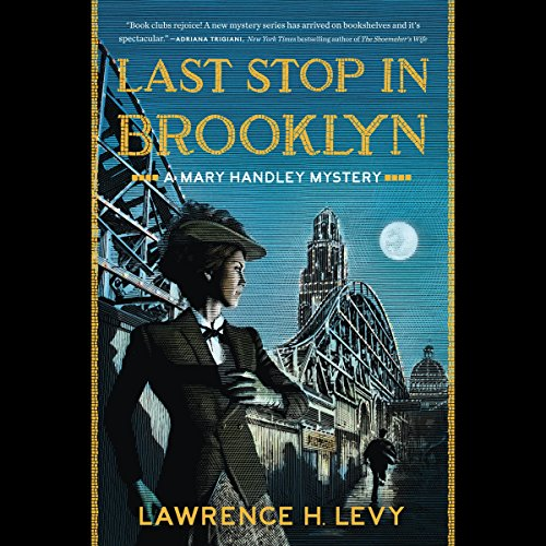 Last Stop in Brooklyn audiobook cover art