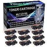 10-Pack Black Compatible Laser Printer Cartridge (High Yield) Replacement for Samsung MLT-D116L MLTD116L D116L Imaging Cartridge use for Samsung Xpress SL-M2885FW SL-M2875DW Printer