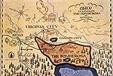 Bonanza The Ponderosa Lake Tahoe Reno Map Nevada State