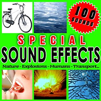 Nature, Explosions, Humans, Transport... Special Sound Effects.