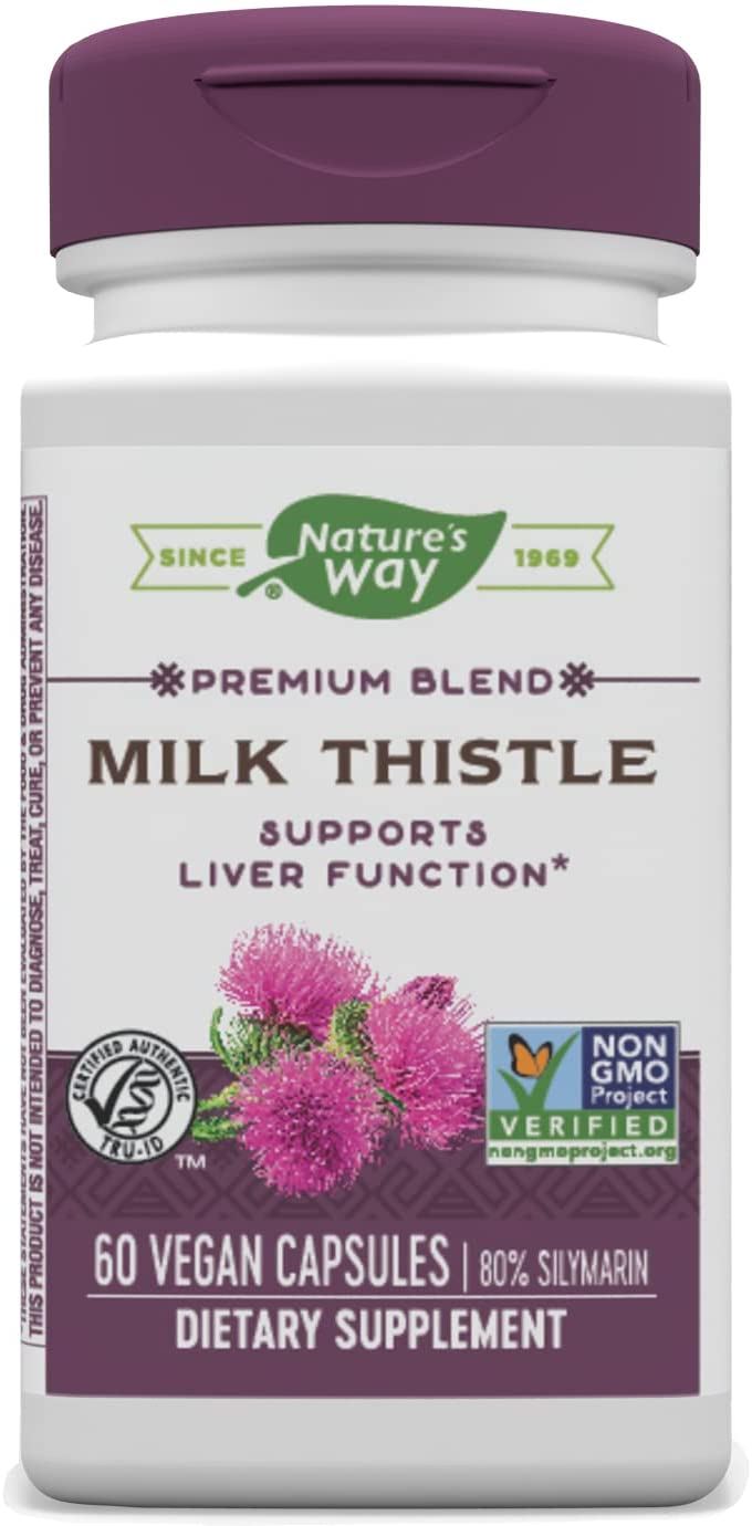 Nature's SEAL limited product Way Premium Extract Standardized 80% excellence Thistle Milk Silym