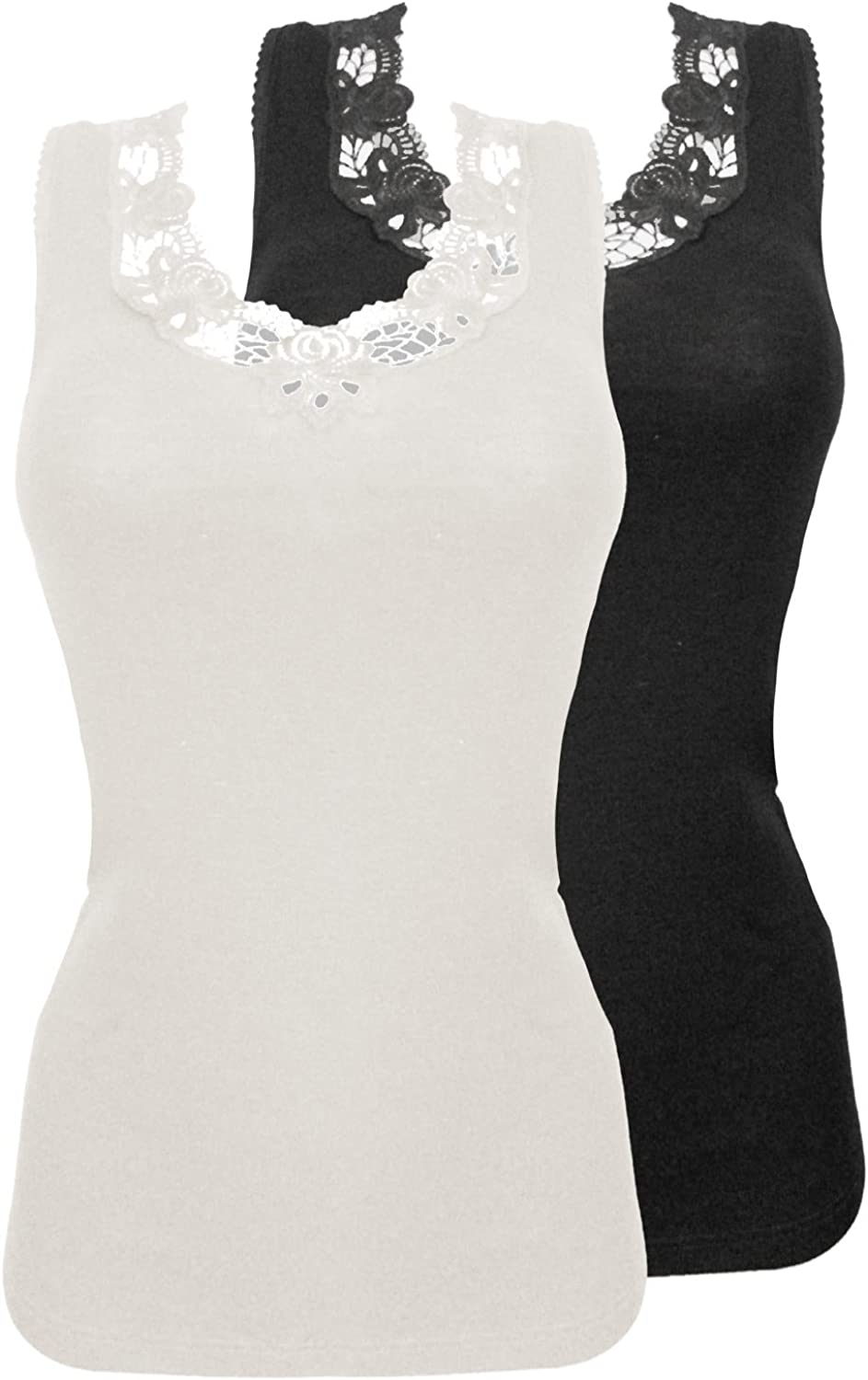 Sangora Pack of 2 Women's Thermal Camisole 7960841
