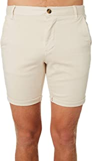 Academy Brand Men's Hayman Mens Short Cotton Fitted Elastane Green