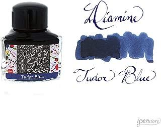 Diamine 40ml Tudor Blue Fountain Pen Ink - 150 Year Anniversary Edition