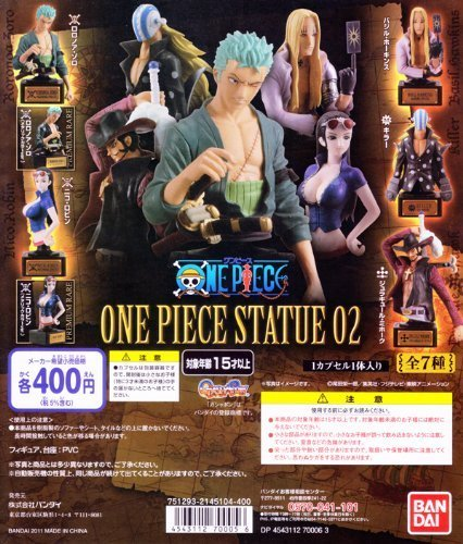 ONE PIECE STATUE 02 5 Number Set