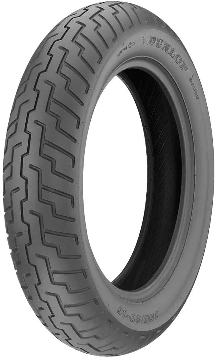Dunlop D404 Al sold out. Front Motorcycle Tire 150 Wall F - 71H Black 80-16 Houston Mall