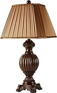 Lampe de Table en résine européenne de rétro Chambre Lampe de Chevet Lampe de Table américaine Salon Lecture Lampe de Lecture