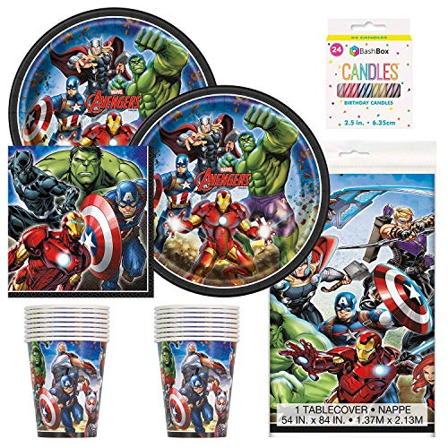 Avengers Party Supply Pack (Serves 16)