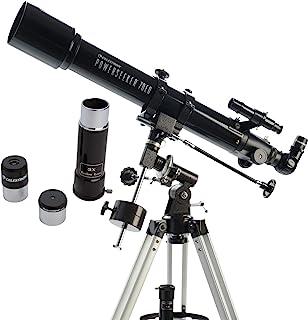 Celestron 21037 Power Seeker Telescope, Refractor, Black