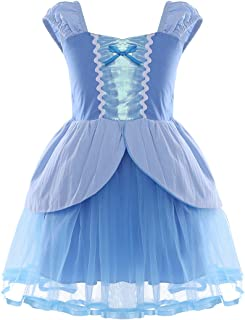 FEESHOW Baby Girl's Princess Dress Up Costume Fairy Tale Fancy Dresses for Birthday Party Halloween Cosplay