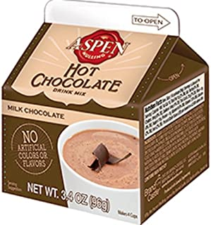 Aspen Mulling Hot Chocolate, S'mores 3.4oz Creamy and Delicious Hot Chocolate Mix Series