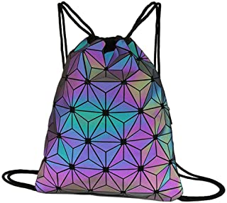 Drawstring Backpacks Bags Bamboo Painting Sports Gym Sackpack Tote Travel Rucksack Gym Bags