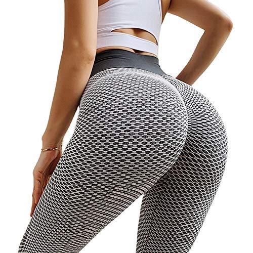 zhouxi TIK Tok Leggings Pántalones Deportivo para Mujer, Leggings Push Up Mujer