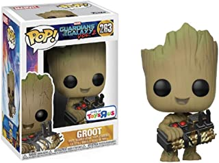 Funko Pop Guardians of the Galaxy: Groot with Bomb Collectible Figure, Multicolor