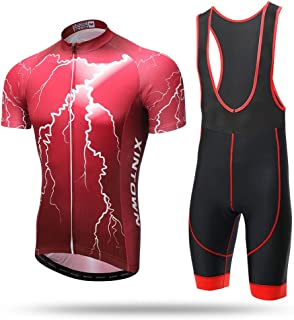 Unkoo Champion Men's Cycling Jersey Mtb Bicycle Clothing Bike Wear Clothes Short Maillot Roupa Ropa De Ciclismo Hombre Ver...