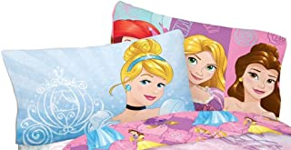 Disney Princess Reversible Standard Pillowcase - Dreaming Princess