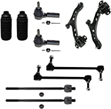 Detroit Axle - New Complete 10pc Front Suspension Kit Ford Mustang - 10-Year Warranty- Both (2) Lower Control Arm & Ball Joint, All (4) Inner & Outer Tie Rods, 2 Front Sway Bar Links, 2 Tie Rod Boots