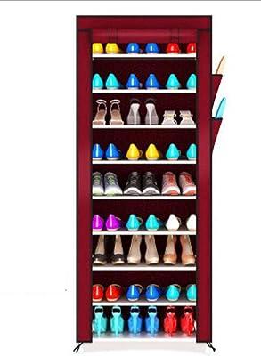 shoe rack Zapatero_Zapatero De 10 Niveles con Cubierta A ...