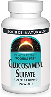 Source Naturals Glucosamine Sulfate, Sodium-Free POWDER For Joint Support - 4 oz