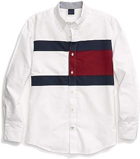 Men's Adaptive Magnetic Long Sleeve Button Down Shirt...