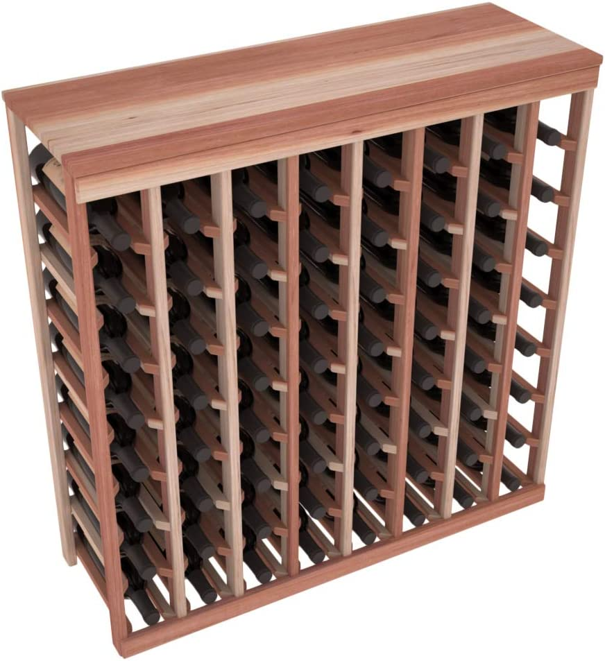 Wine Racks America Redwood 64 Ranking TOP10 Top Product Table Rack. Unstained Bottle
