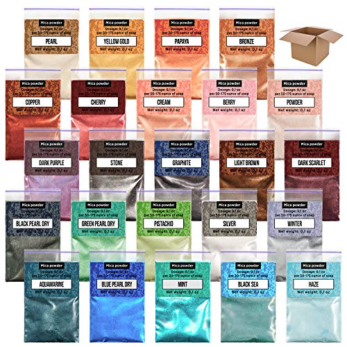 Epoxy Resin Dye - 24 Mica Powder fo…